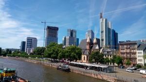 Eiserner Steg, Skyline, Frankfurt