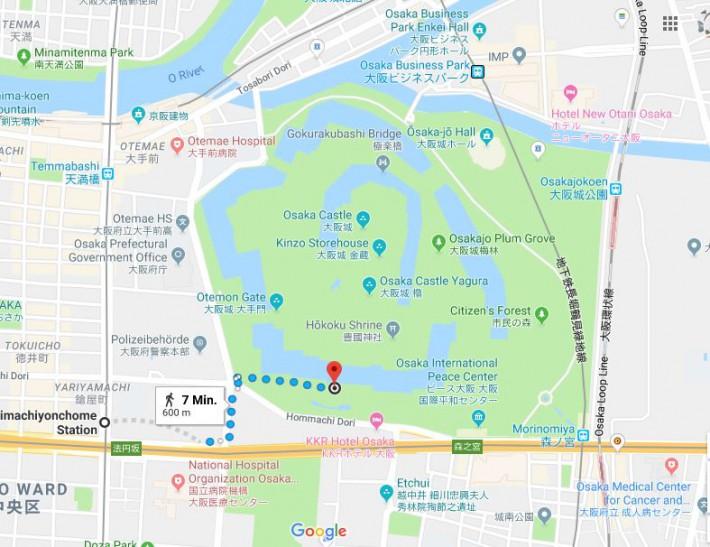 Hanami map